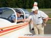 Erbauer gratuliert Pilot