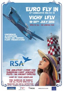 Affiche VICHY 2014  UK