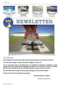 EAS-Newsletter August 2014