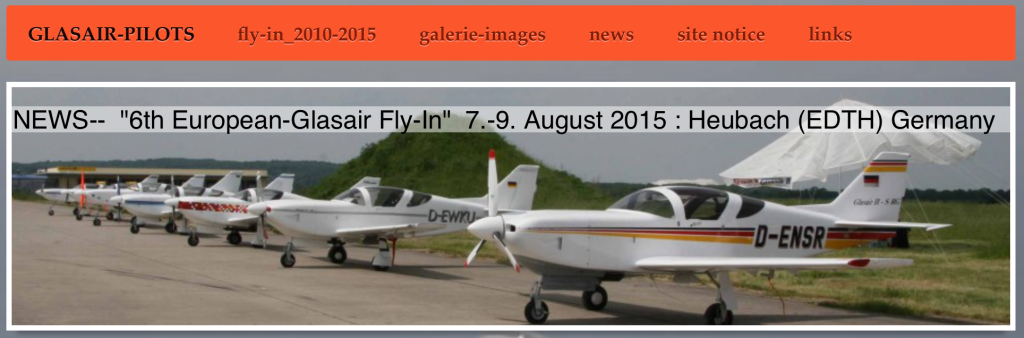 Glasair flyin 2015