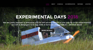 Experiemntal Days 2016