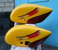 Wheel fairings