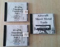 Instruction DVDs for empennage construction RV 6/7/8
