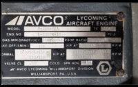 Flugzeugmotor Lycoming 235-P2A, komplett mit Papieren, Incl. Skytec Anlasser, TT 260 h